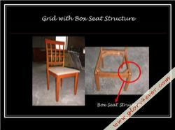 GRID V BOX SEAT STRUCTURE
